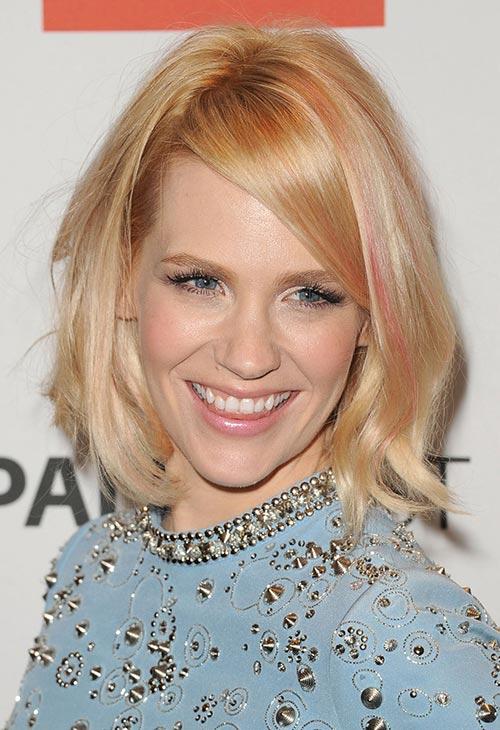 Pretty Pastel Hair Color Ideas: January Jones