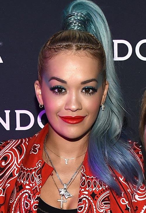 Pretty Pastel Hair Color Ideas: Rita Ora
