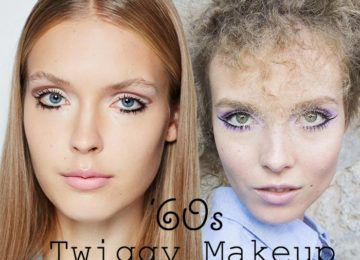 Sixties Twiggy Lashes Are Trendy In Spring 2015 Too