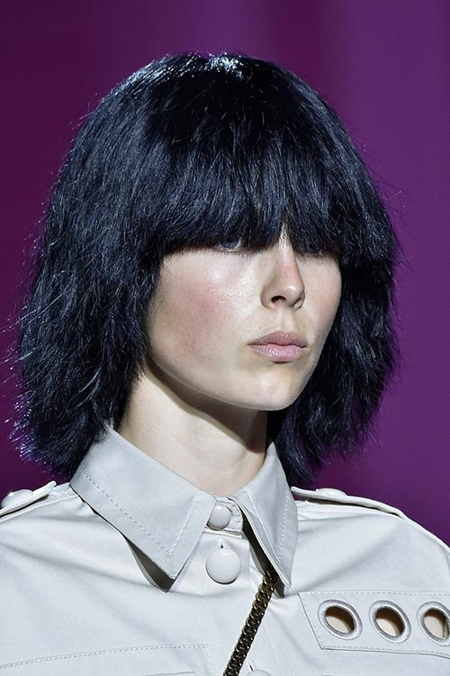Spring 2015 Stylish Hairstyles With Bangs