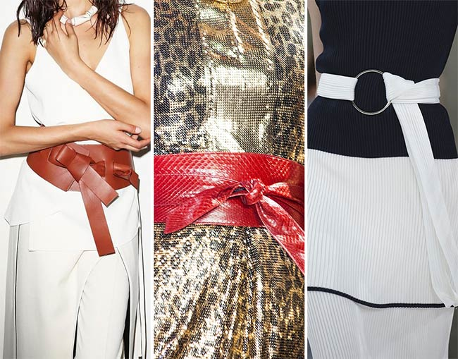 Spring/ Summer 2015 Accessory Trends: OBI Belts