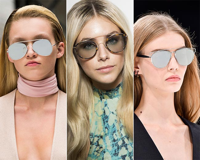 Spring/ Summer 2015 Eyewear Trends: Aviator Sunglasses