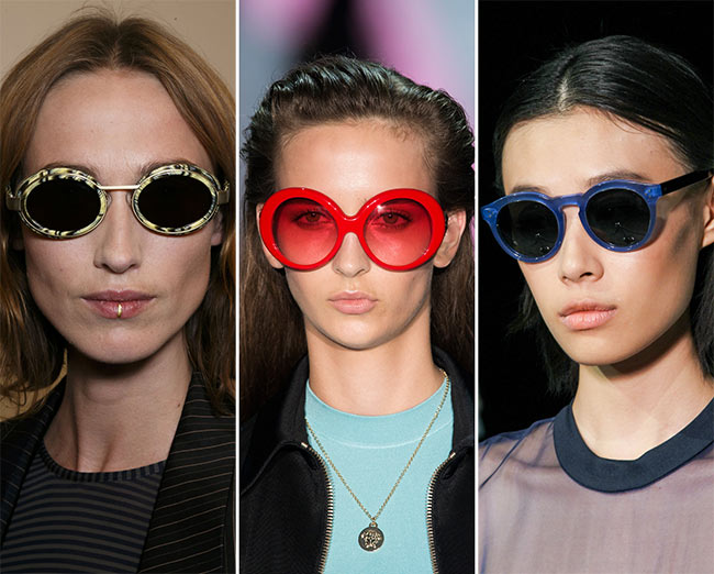 Spring/ Summer 2015 Eyewear Trends: Sunglasses With Bright Frames