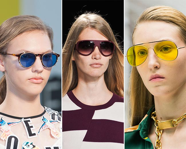 Spring/ Summer 2015 Eyewear Trends: Bright Sunglasses