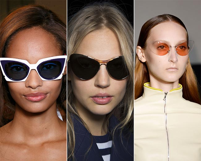 Spring/ Summer 2015 Eyewear Trends: Butterfly and Cat-Eye Sunglasses