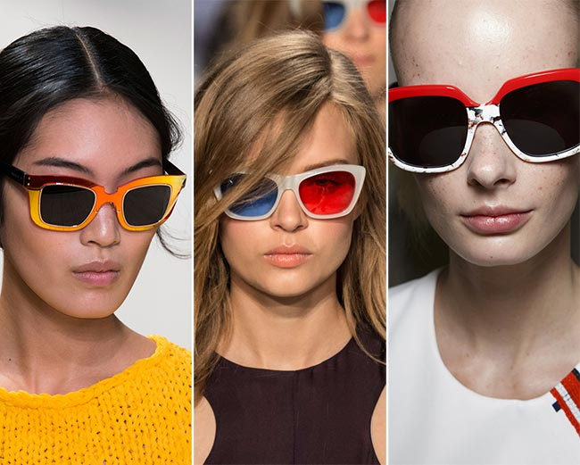 Spring/ Summer 2015 Eyewear Trends: Colorful Sunglasses