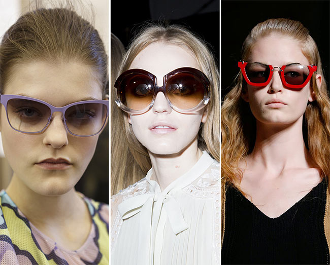 Spring/ Summer 2015 Eyewear Trends: Ombre Effect Sunglasses