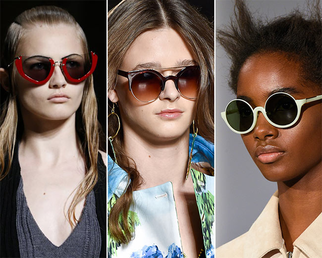 Spring/ Summer 2015 Eyewear Trends: Semi-Rimless Sunglasses