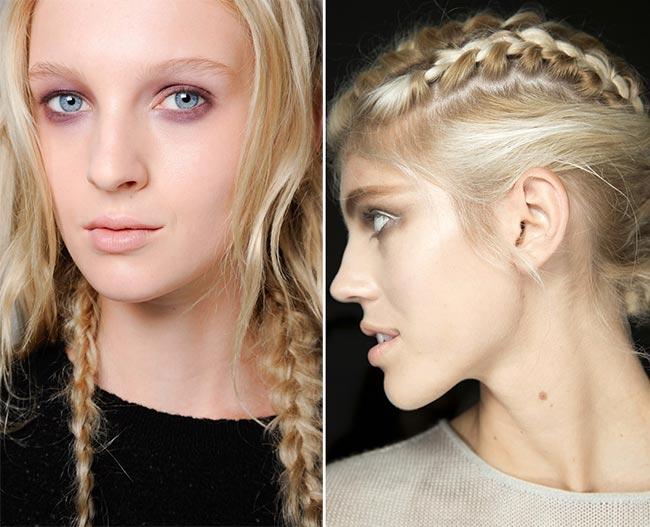 Spring/ Summer 2015 Hairstyle Trends: Grunge Braids