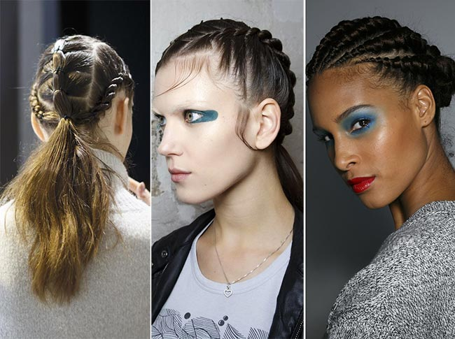 Spring/ Summer 2015 Hairstyle Trends: Grunge Braids