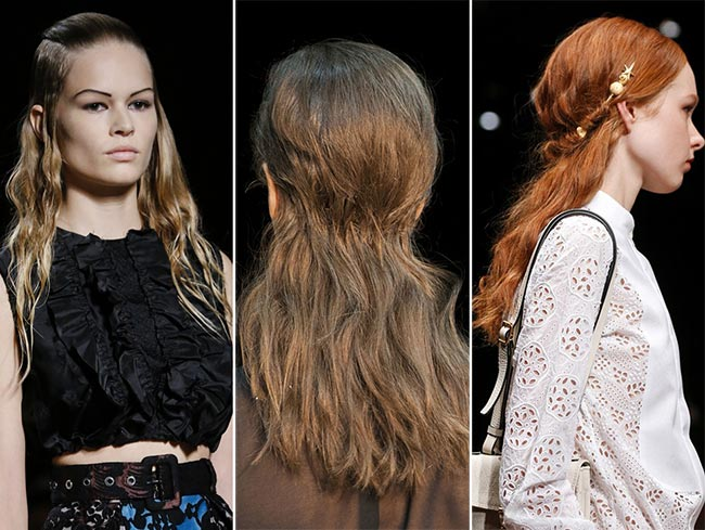 Spring/ Summer 2015 Hairstyle Trends: Half-Up Half-Down Hairstyles