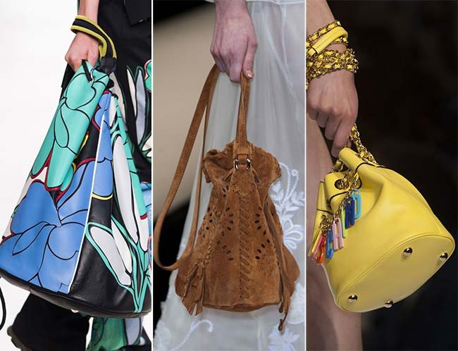 Spring/ Summer 2015 Handbag Trends: Bucket Bags