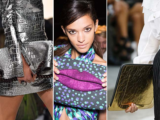Spring/ Summer 2015 Handbag Trends: Envelope and Folded Bags