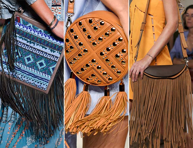 Spring/ Summer 2015 Handbag Trends: Fringed Bags