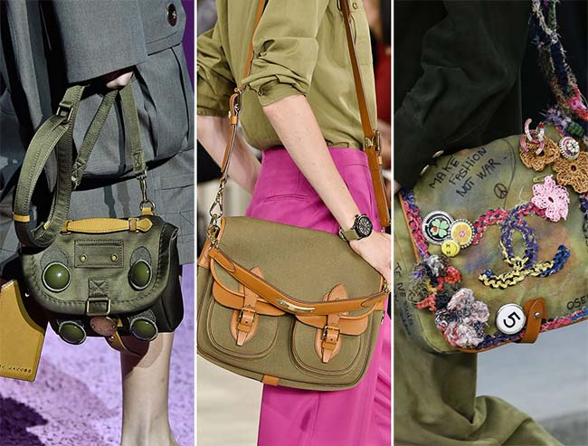 Spring/ Summer 2015 Handbag Trends: Messenger Bags