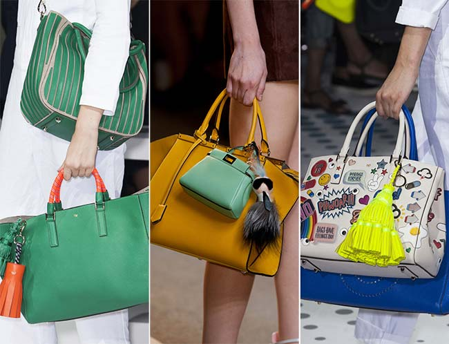 Spring/ Summer 2015 Handbag Trends: Multiple Bags At a Time