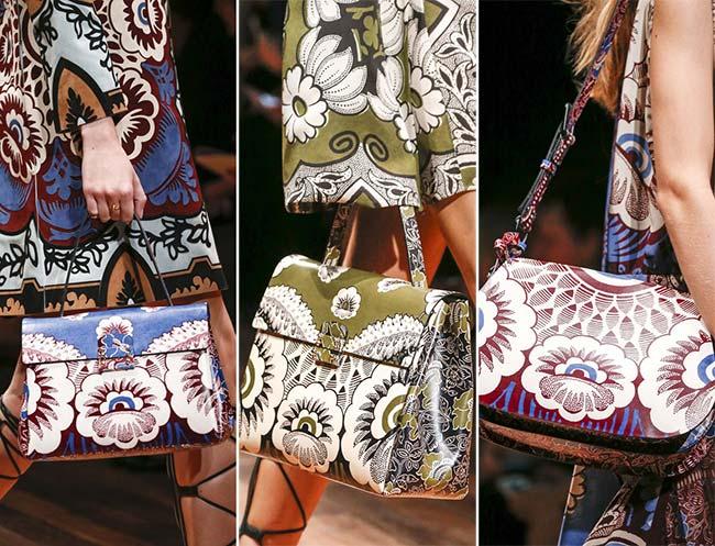 Spring/ Summer 2015 Handbag Trends: Floral Printed Bags