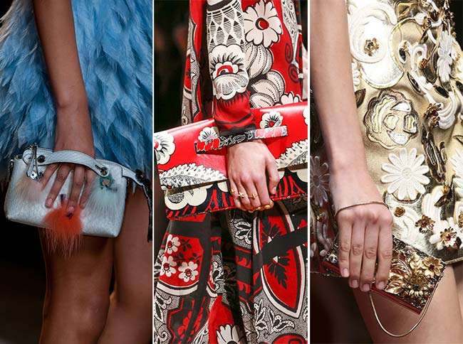 Spring/ Summer 2015 Handbag Trends: Clutches and Purses
