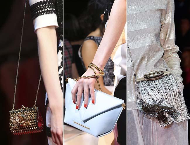 Spring/ Summer 2015 Handbag Trends: Itsy-Bitsy Tiny Bags