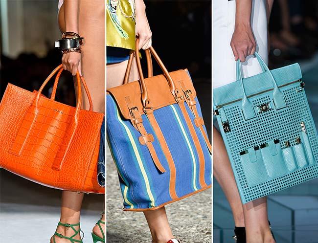 Spring/ Summer 2015 Handbag Trends: Tote Bags