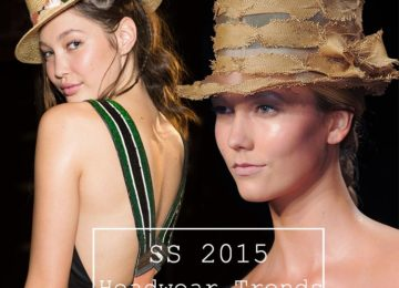 Spring/ Summer 2015 Headwear Trends