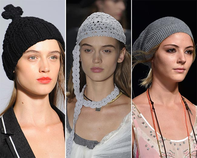 Spring/ Summer 2015 Headwear Trends: Knitted Hats
