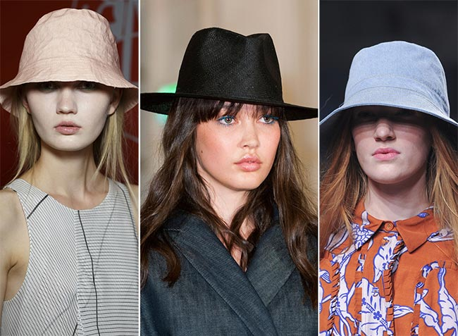 Spring/ Summer 2015 Headwear Trends: Panama and Bucket Hats