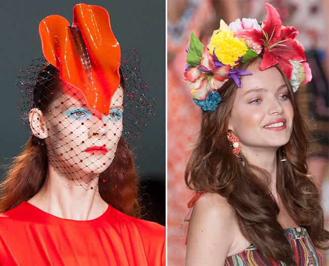 Spring/ Summer 2015 Headwear Trends: Floral Crowns and Fascinators