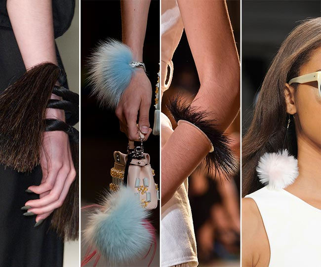 Spring/ Summer 2015 Jewelry Trends: Feathery and Fur Jewelry