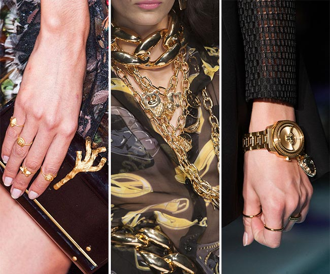 Spring/ Summer 2015 Jewelry Trends: Golden Jewelry