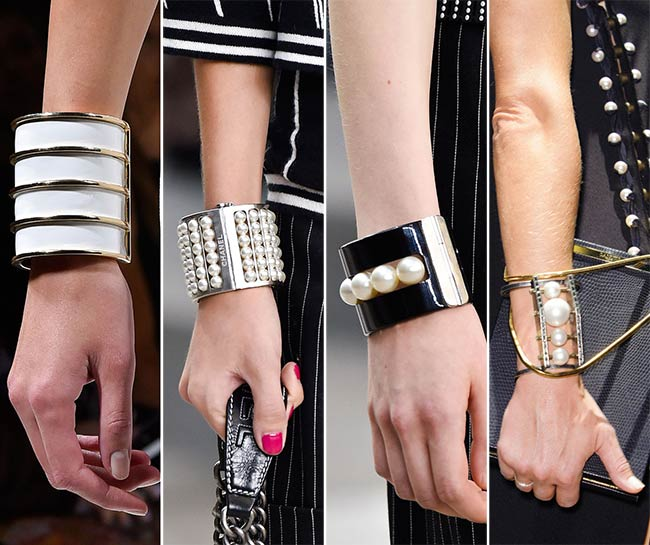 Spring/ Summer 2015 Jewelry Trends: Metallic Bracelets