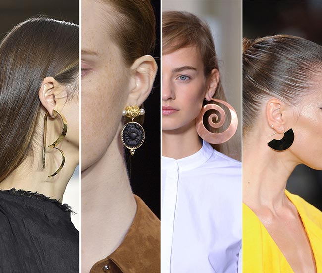 Spring/ Summer 2015 Jewelry Trends: Statement Earrings