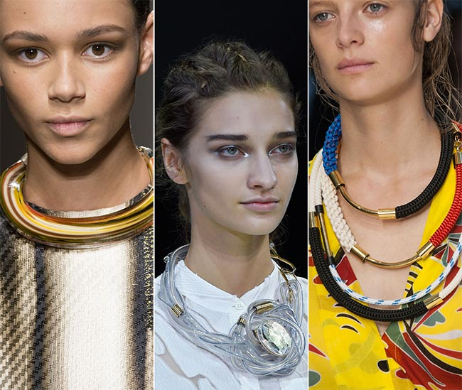 Spring/ Summer 2015 Jewelry Trends: Tube Necklaces