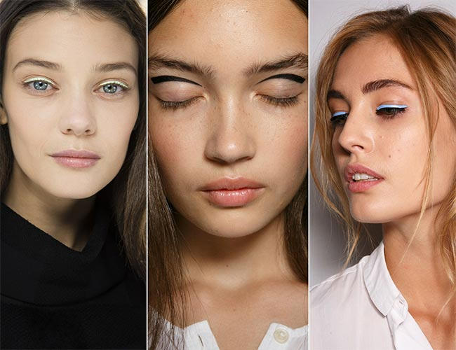 Spring/ Summer 2015 Makeup Trends: Artistic Arrows