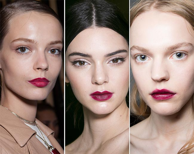 Spring/ Summer 2015 Makeup Trends: Berry Cherry Lips