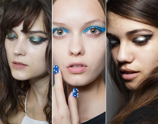 Spring/ Summer 2015 Makeup Trends: Graphic Cat Eye Swoop