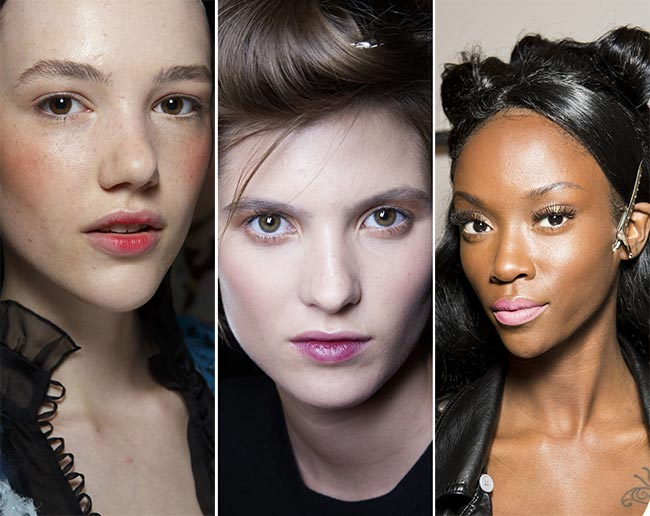 Spring/ Summer 2015 Makeup Trends: Light Lips