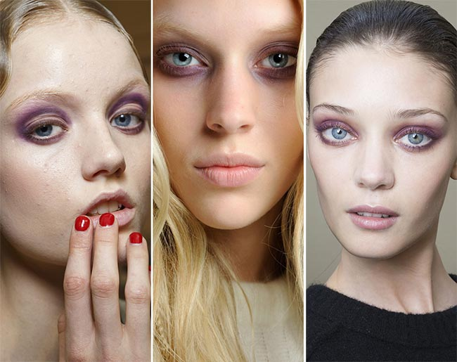 Spring/ Summer 2015 Makeup Trends: Mauve Eye Makeup