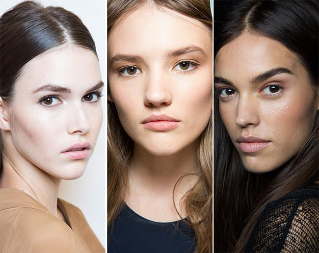 Spring/ Summer 2015 Makeup Trends: Natural No Makeup Look
