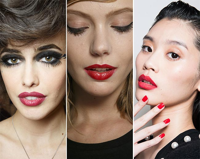 Spring/ Summer 2015 Makeup Trends: Red Lips