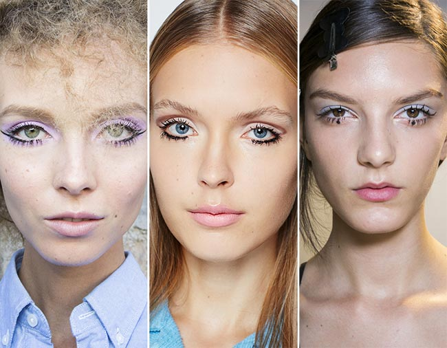 Spring/ Summer 2015 Makeup Trends: Sixties Twiggy Makeup