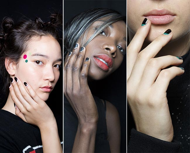 Spring/ Summer 2015 Nail Trends: Black Nails