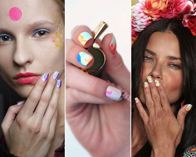 Spring/ Summer 2015 Nail Trends: Colorful Nails