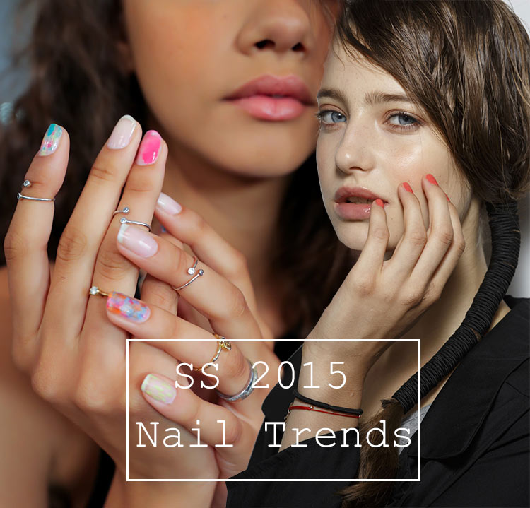 spring summer 2015 nail trends fashionisers