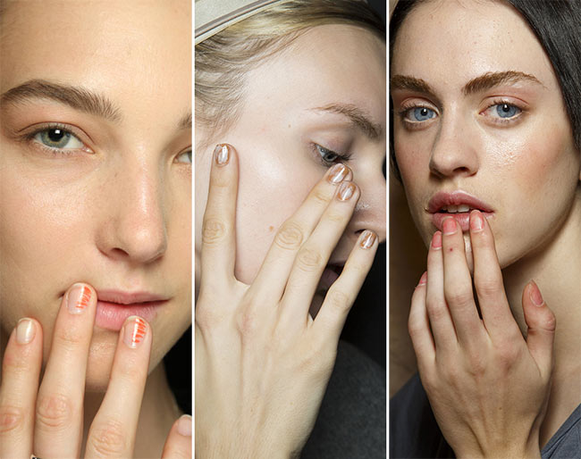 Spring/ Summer 2015 Nail Trends: Messy Nails