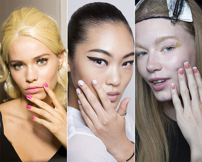 Spring/ Summer 2015 Nail Trends: Pink Nails
