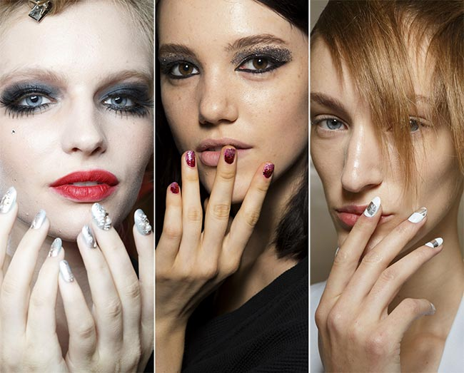 Spring/ Summer 2015 Nail Trends: Shimmery Nails