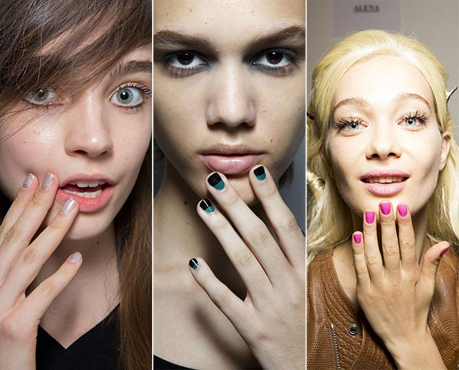 Spring/ Summer 2015 Nail Trends: Squared Oval Nails
