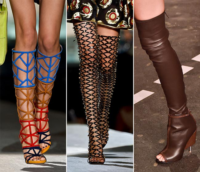 Spring/ Summer 2015 Shoe Trends: Boots and Booties