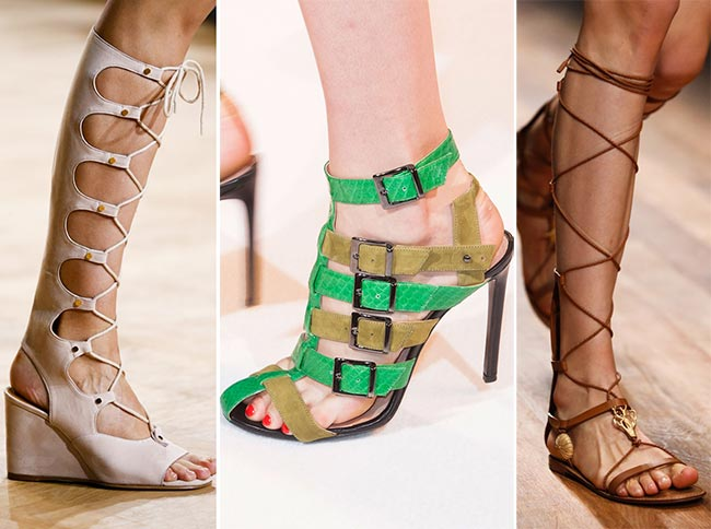 Spring/ Summer 2015 Shoe Trends: Gladiator Sandals